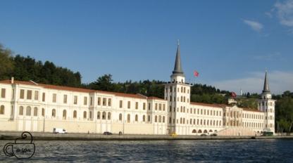 Palace along Bosphorus